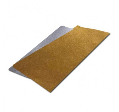 Papel china metalico oro con 100 piezas