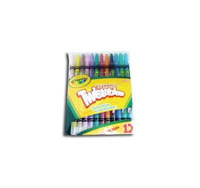 Crayon Crayola twistable retractiles con 12 piezas